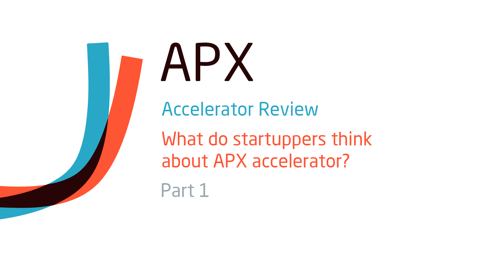 APX Startup Accelerator review