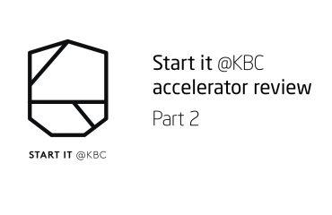 Start it KBC Startup Accelerator review Part 2