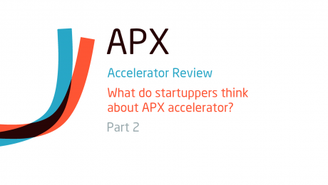 What do startuppers think about APX startup accelerator?