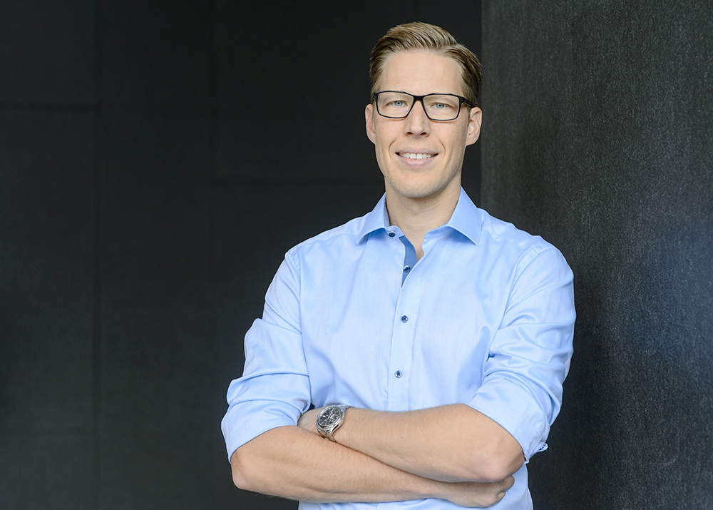 Heiko Huber TechFounders  Managing Director