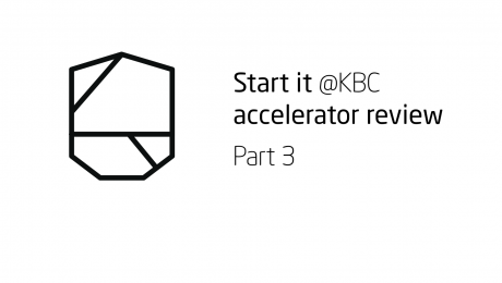 Start it KBC Startup Accelerator review Part 3