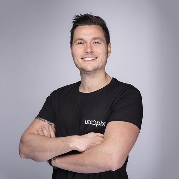 Utopix CEO Maxime Arcari