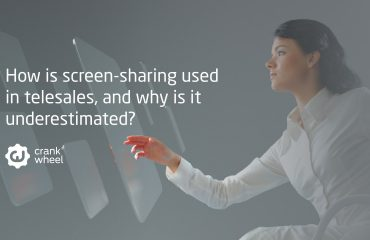 How is screen-sharing used in telesales, and why is it underestimated?