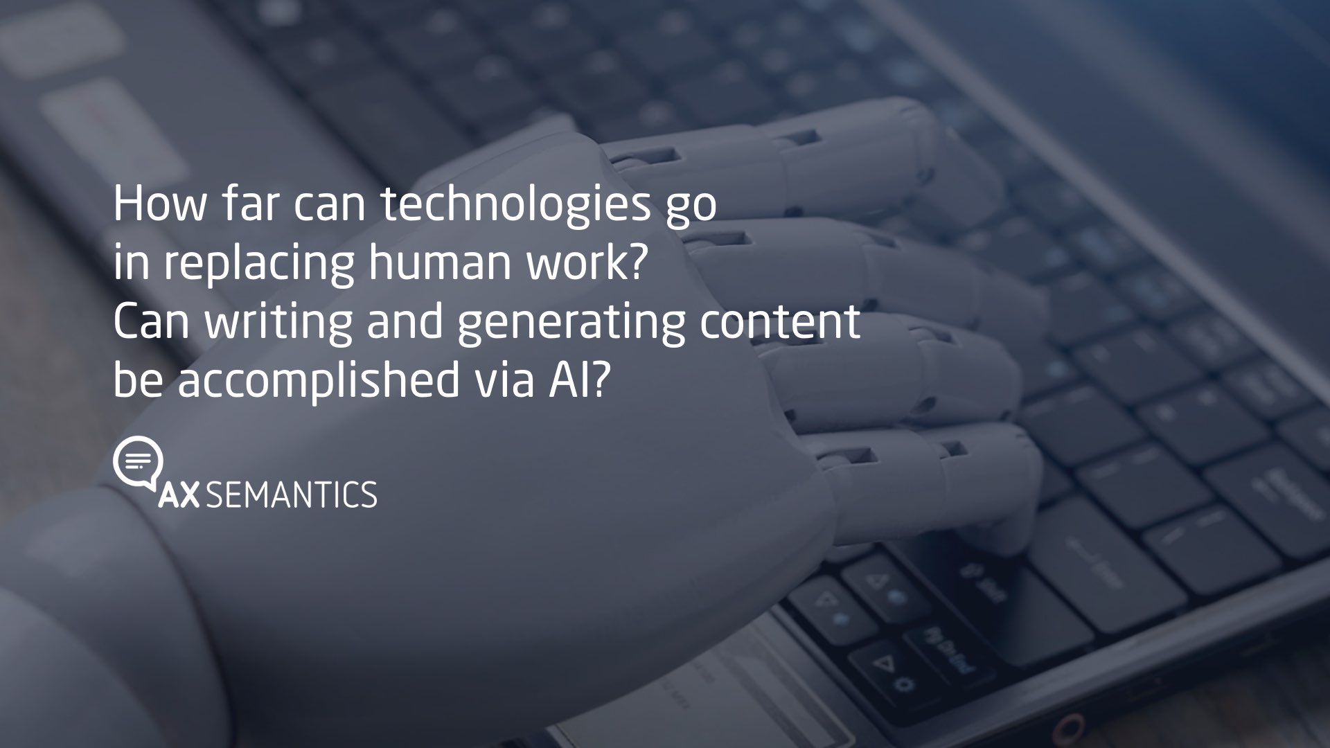 Can writing and generating content be accomplished via AI