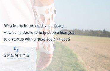 Spentus 3D printing medical industry
