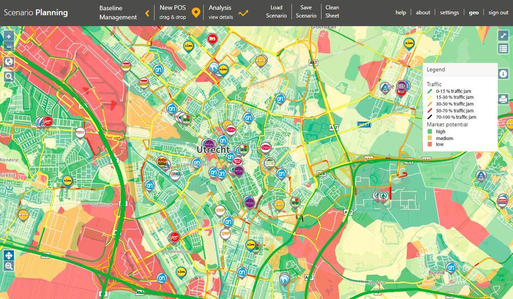 RetailSonar retail marketing-prediction AI intelligence map