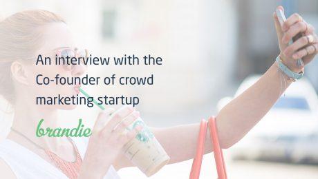 Brandie crowd marketing startup