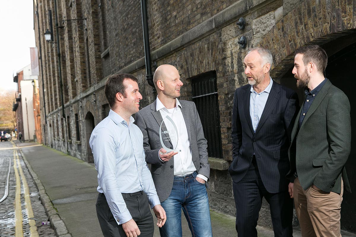 Xpanse AI, winner of NDRC Autumn Investor Showcase and €30,000 in follow-on investment.