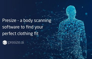 Presize - a body scanning software to find your perfect clothing fit