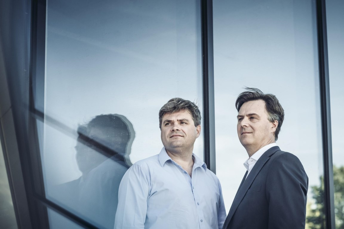 Bart and Michel Co-founders Yuso startup