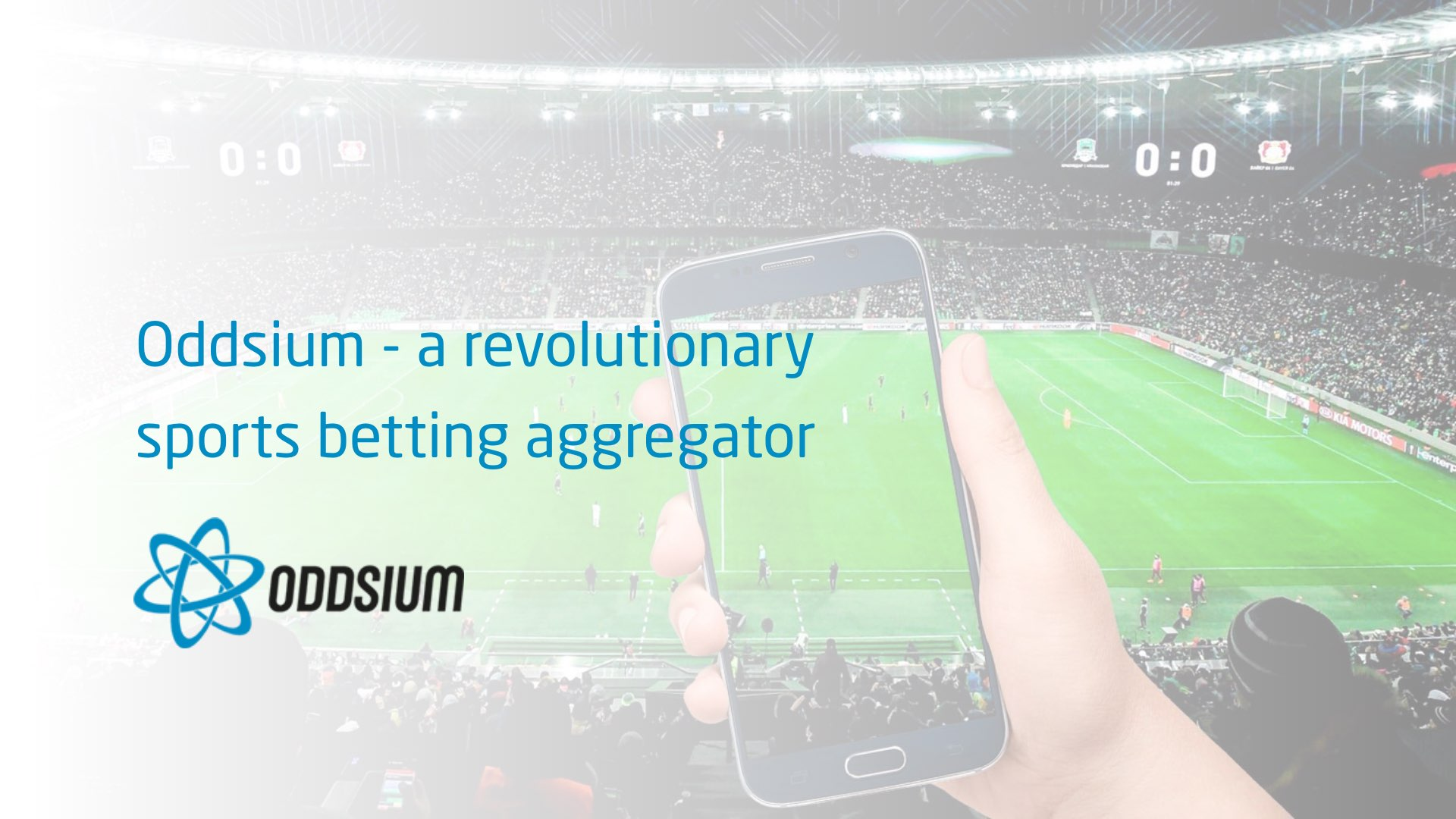 Oddsium - a revolutionary sports betting aggregator