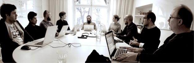 Oddsium startup development with in-house team and remote developers