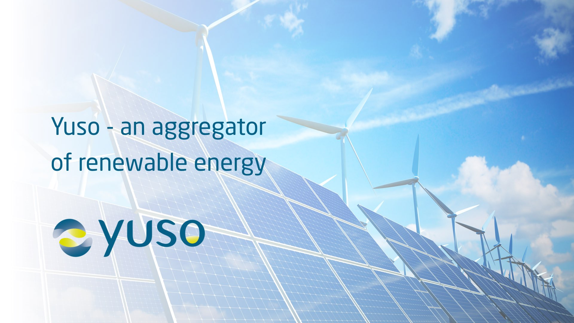 Yuso aggregator renewable energy