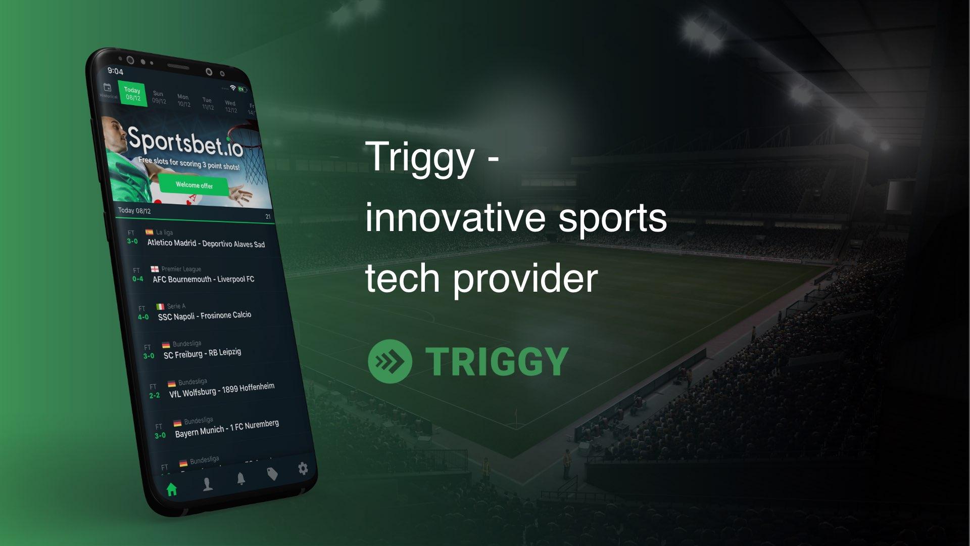 Triggy - innovative sports tech provider