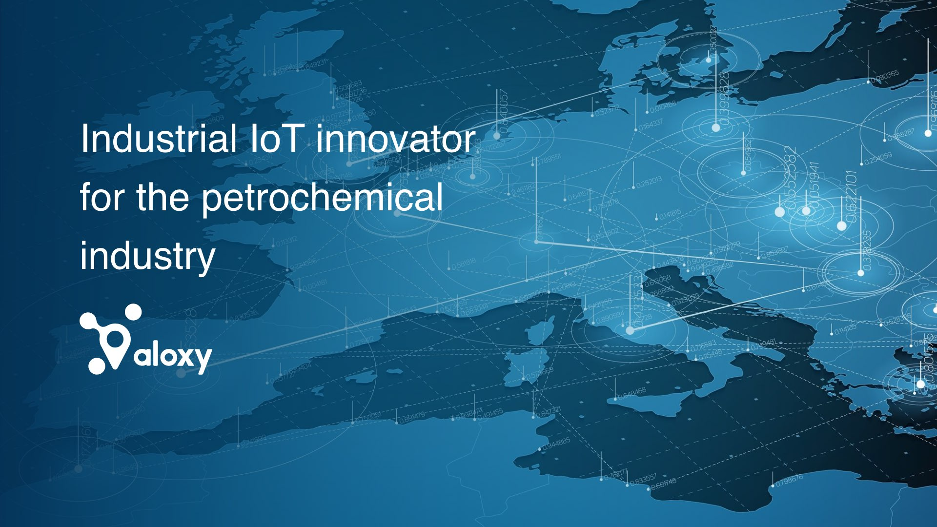 Aloxy.io - industrial IoT innovator for the petrochemical industry