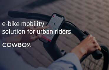 Cowboy startup - e-bike mobility solution for urban riders