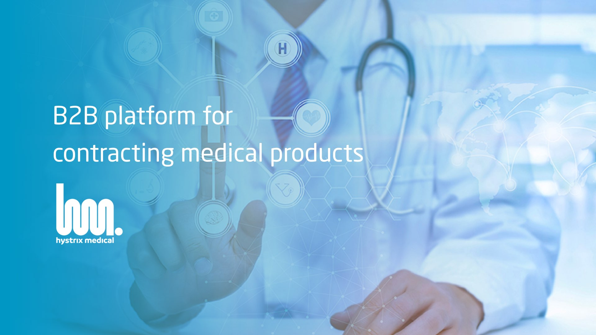 Hystrix Medical - a B2B platform for contracting medical products